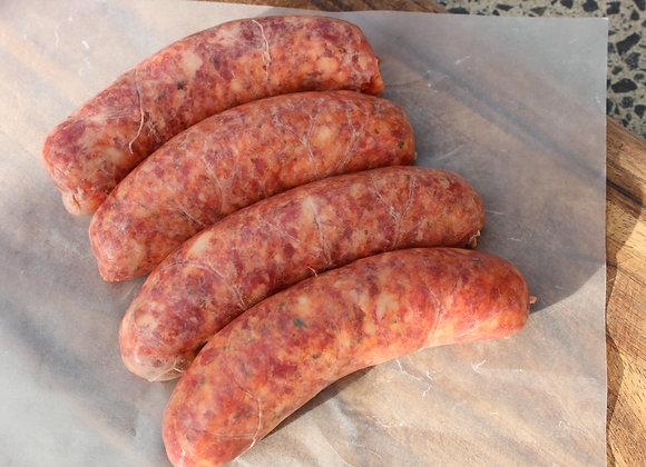 5 x Sweet Smoky Brisket Sausages (Gluten Free)