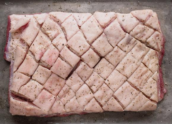 1kg Free Range Pork Belly