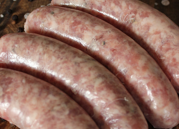 5 x Award winning Pork & Fennel Sausages (Gluten Free)