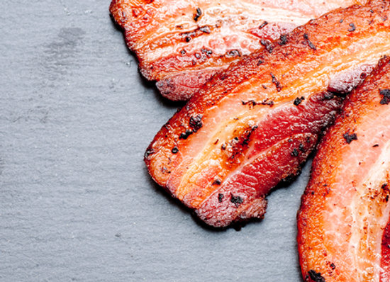 500gm Streaky Bacon dry cured