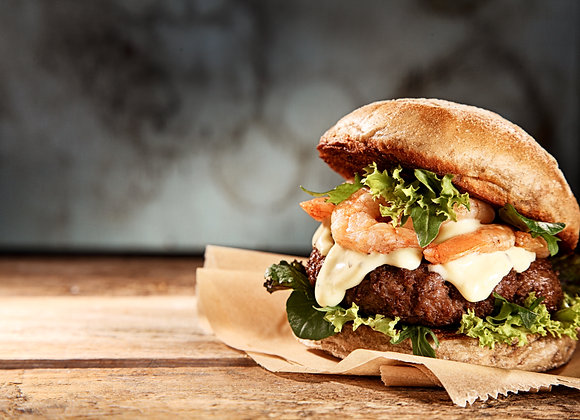 4 x Pork Belly Burgers