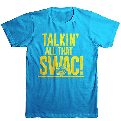 Talkin' All That SWAC - Blue and Yellow