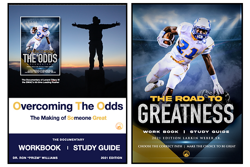 2 Workbook / Study Guides PDFs - Overcoming the Odds & Road to Greatness