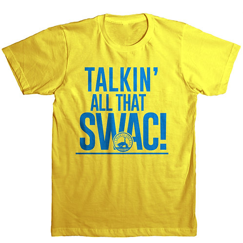 Talkin' All That SWAC - Gold and Blue