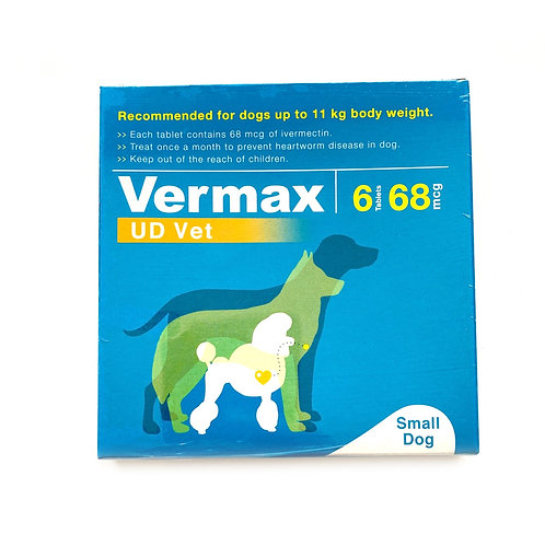 Vermax Blue For Dogs Up to 25 lbs (<11kg.)