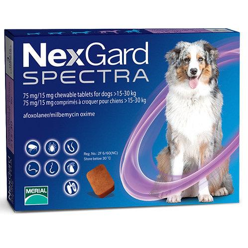 Nexgard Spectra Large 33 - 66 lbs (15 - 30 kg) - 3 pack