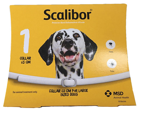 Scalibor Collar Large 65 cm 1 Pcs