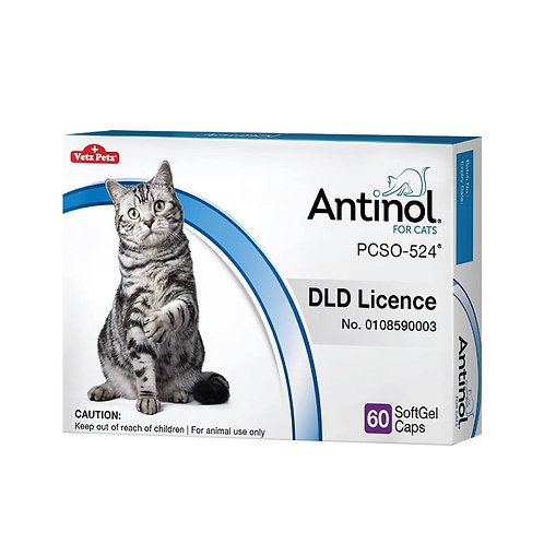 Antinol Joint Care Supplement for Cats 60 ct