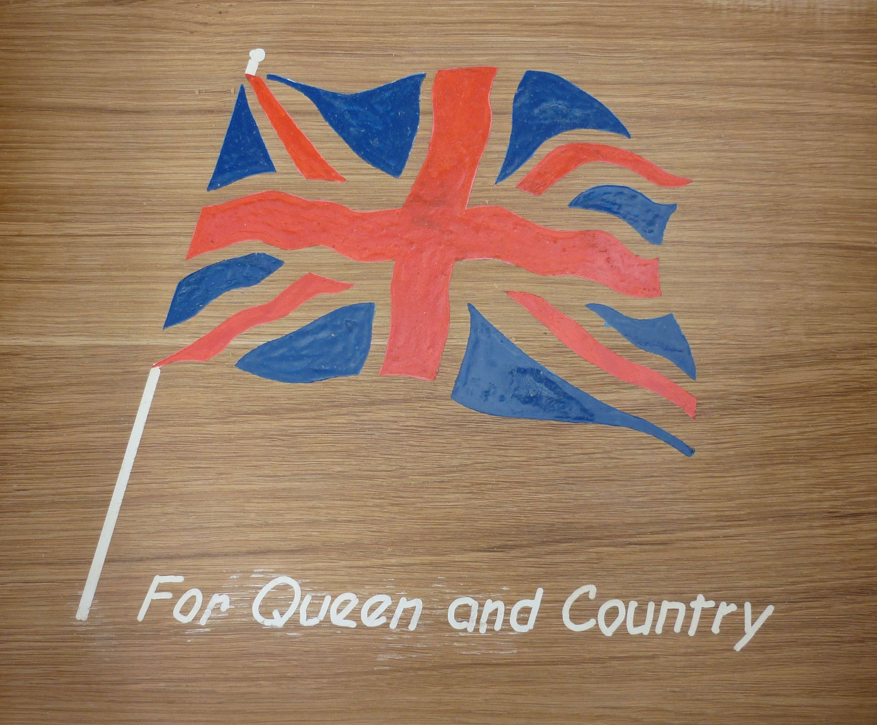 For Queen & Country - Close Up - Jeff Perks