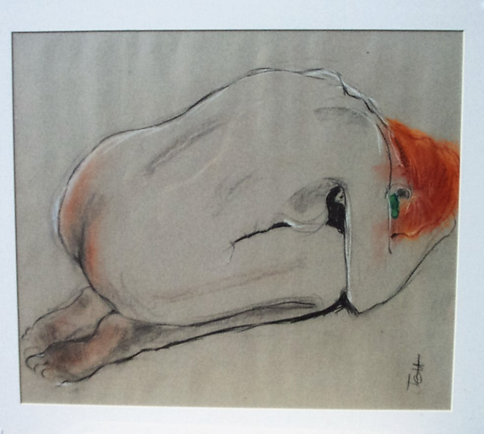Jeff Perks-Girl with the Red Hair Kneeling