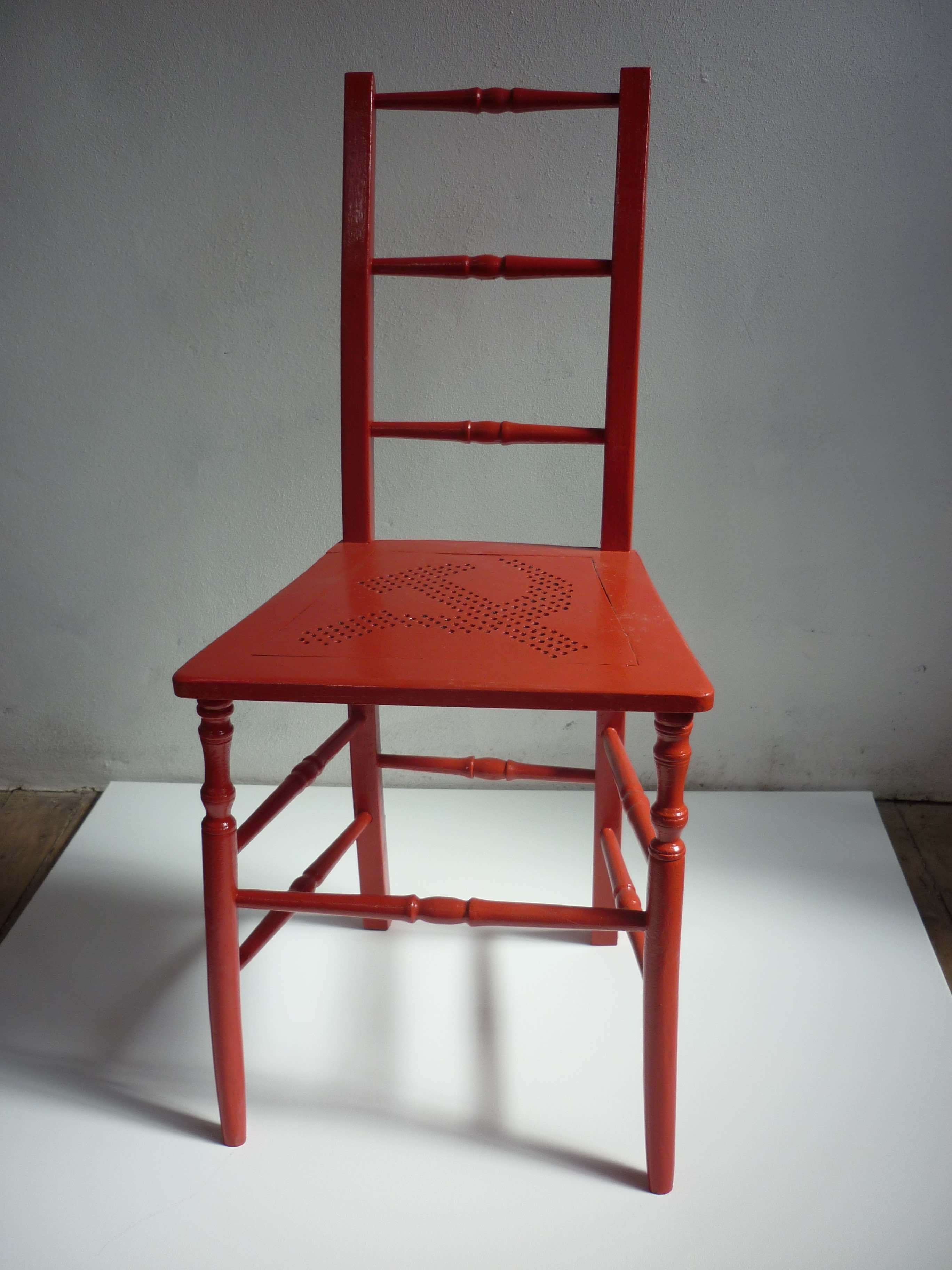 Uncle Joes Chair - Front View - Jeff Perks