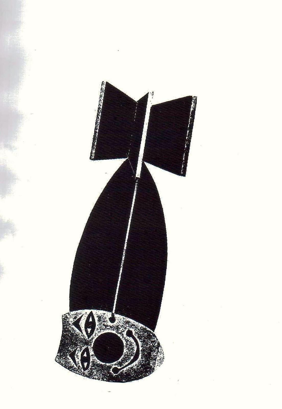 Jeff Perks- Iraq. Friendly Fire. Cardboard Cut. 30x20