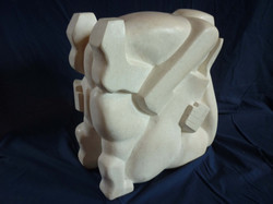 Wrestlers - Finished Side View- Jeff Perks 2