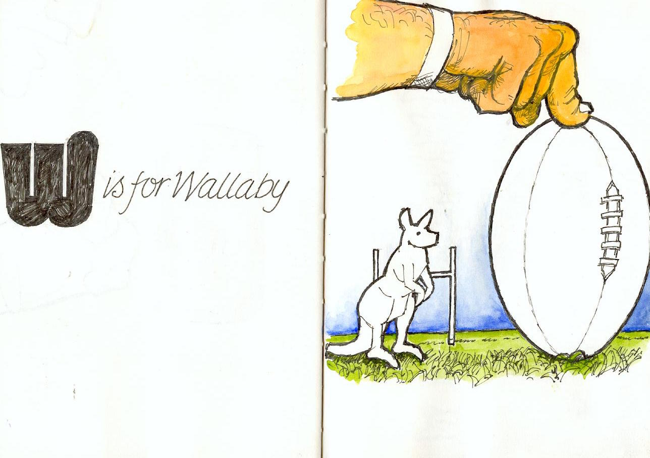 W is for Wallaby  - Jeff Perks