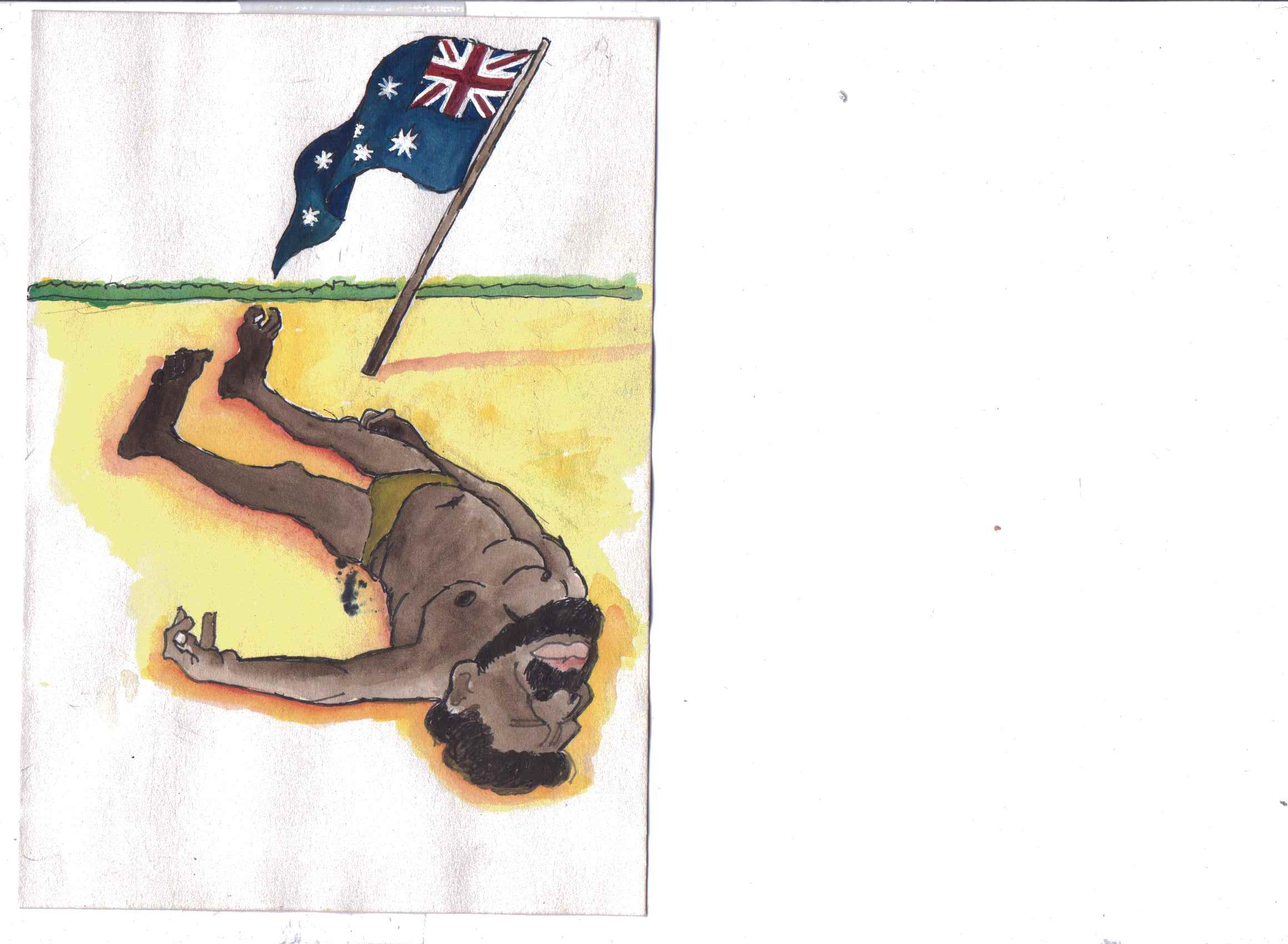 A is for Austrialia - Aborigines - Jeff Perks