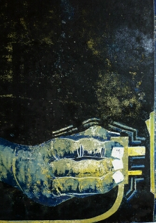 Jeff Perks- Be averted. Cardboard Print. 40x30cm