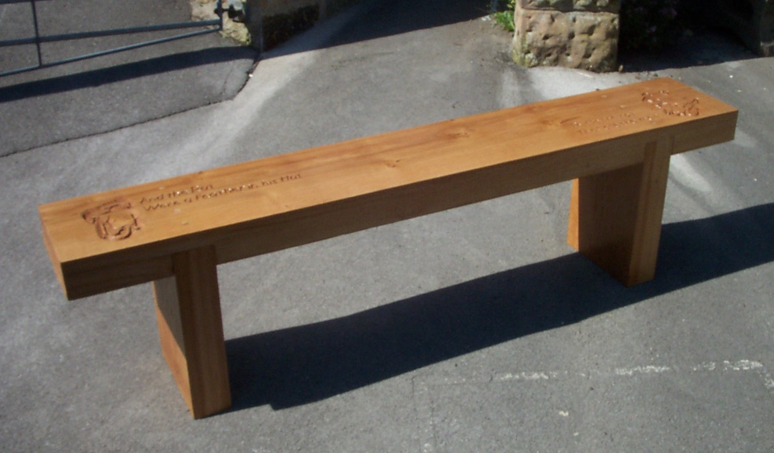 Jeff Perks-Children's Bench
