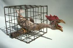 Chicken in a basket - Jeff Perks
