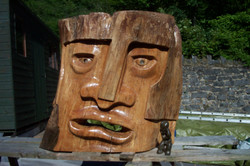 Jeff Perks- Mask of Agamemnon Fallen Elm 150x100cm