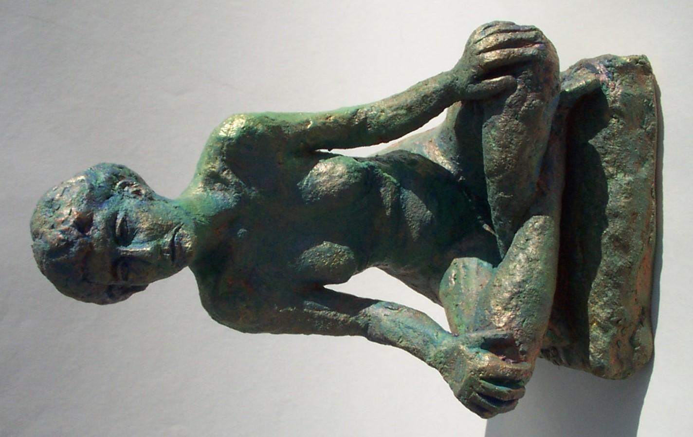 Jeff Perks-Christine (bronze) front 30x20x20cm