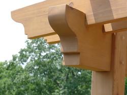 Pergola timber detail