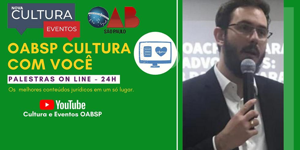 Palestra Online -  28/04/2020 às 19h - Dr. Gustavo Pompílio