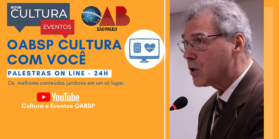 Palestra Online -  30/04/2020 às 19h -  Dr. José Ailton Garcia
