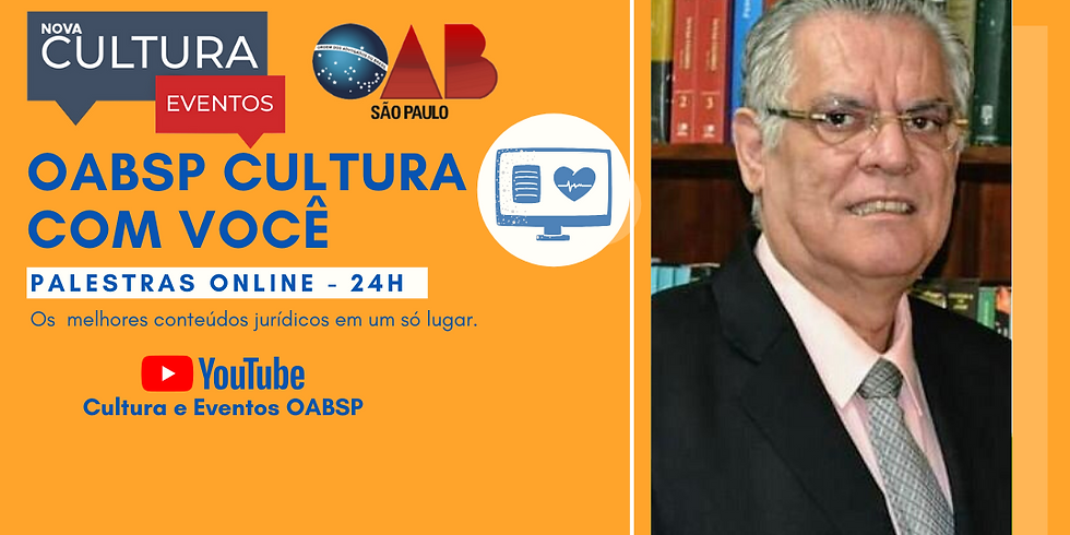14/05/2020 às 19h   Palestra Online - Dr. Waldiner Alves