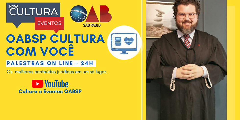 Palestra Online -  29/04/2020 às 19h -  Dr. Henrique Tremura Lopes