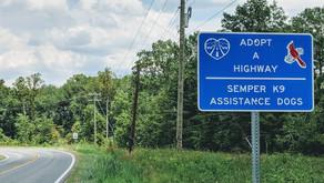 Adopt a Highway: Semper K9 Assistance Dogs