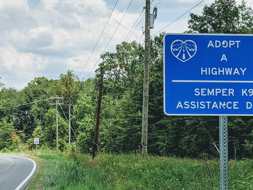 Adopt a Highway: Semper K9 Assistance Dogs