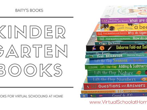 Virtual School at Home: Books to Supplement Kindergarten Curriculum