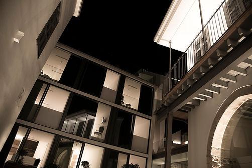 New Building by Night | Lokàl Hotel