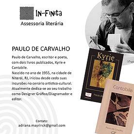 In-Finita - Autores - PAULO DE CARVALHO.