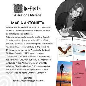 In-Finita - Autores - Maria Antonieta pb