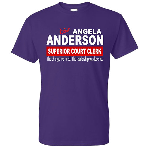 Anderson for Clerk Campaign Shirt