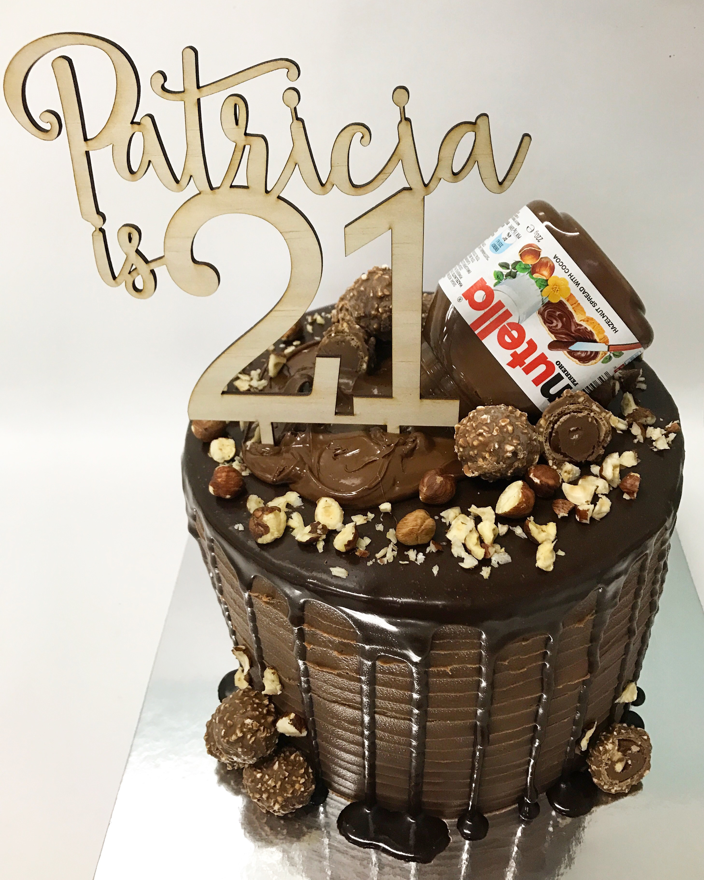 21st Nutella cake