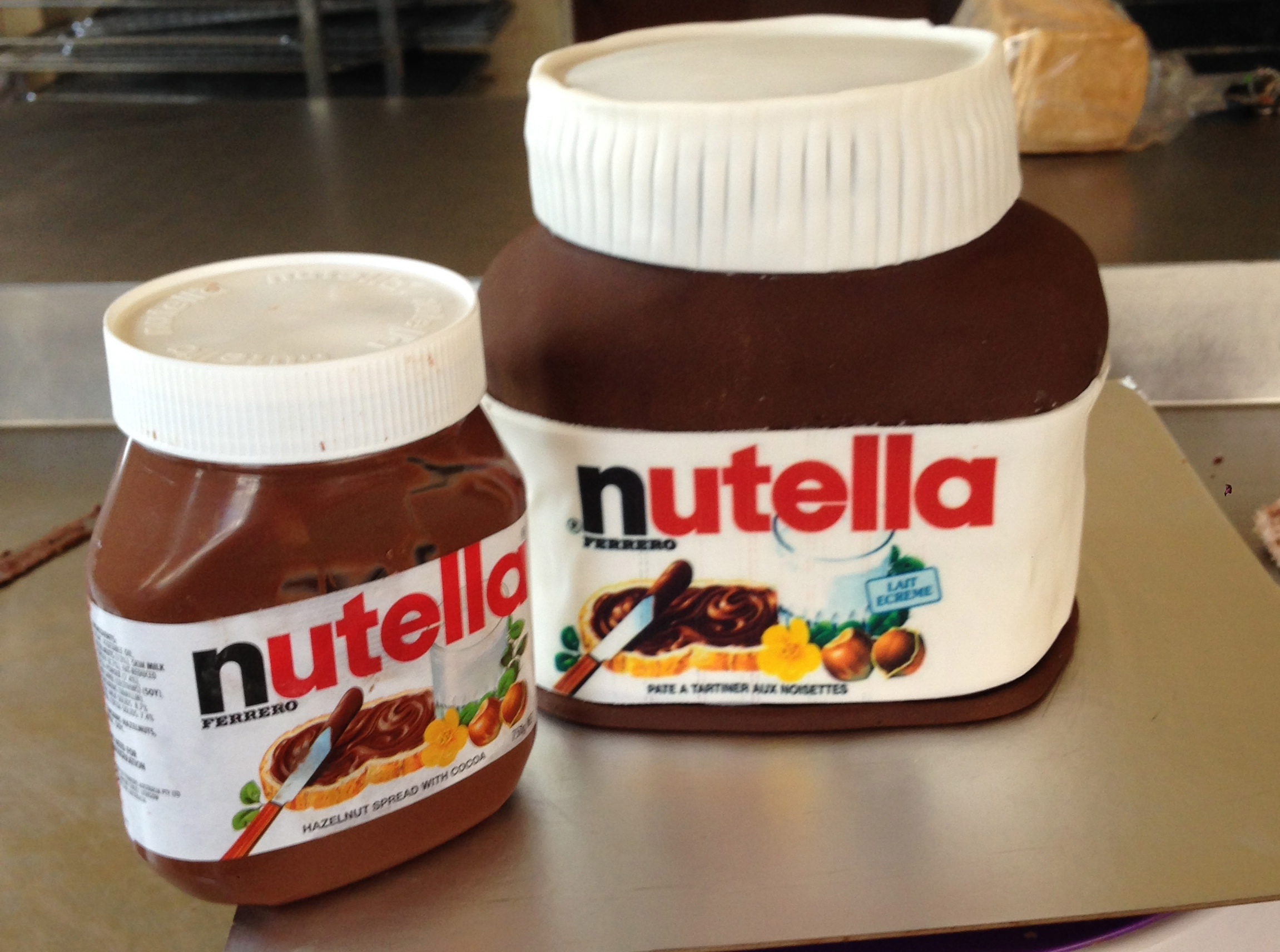 Nutella Jar.