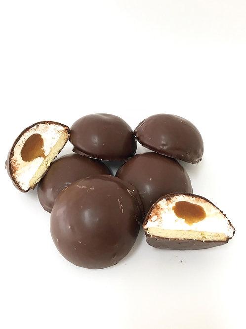 Salted caramel chocolate Royals (6)