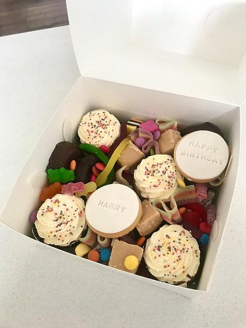 Happy Birthday lollie dessert box