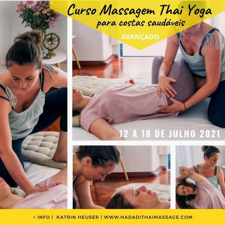 Curso Massagem Thai | Costa Saudáveis
