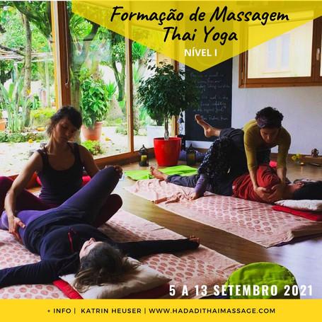 Curso Massagem Thai | Nível I