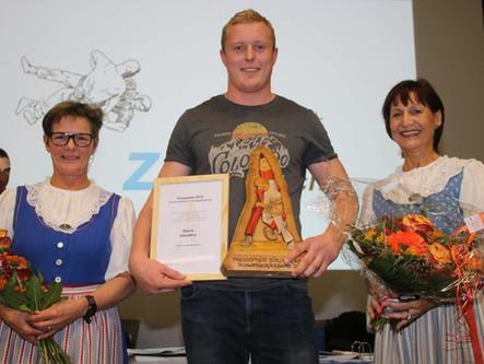 Pressepreis für Shane Dändliker