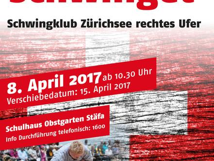 Buebe-Schwinget Stäfa am 8. April 2017