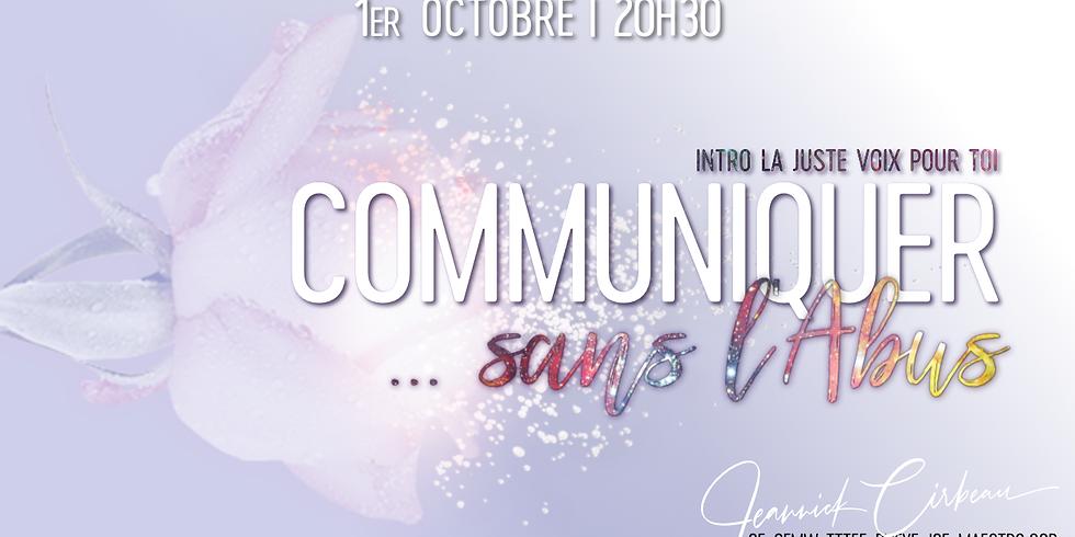 Communiquer sans l'abus
