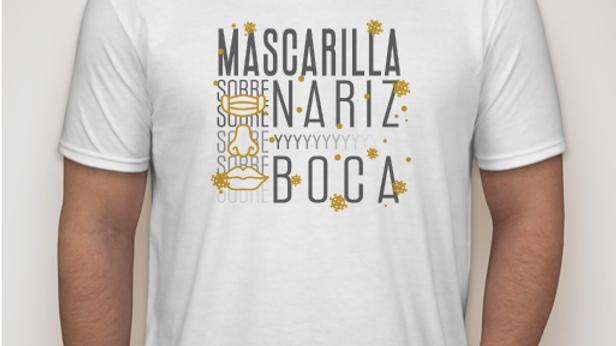 Camisa Mascarilla sobre Nariz y Boca Edición Invierno