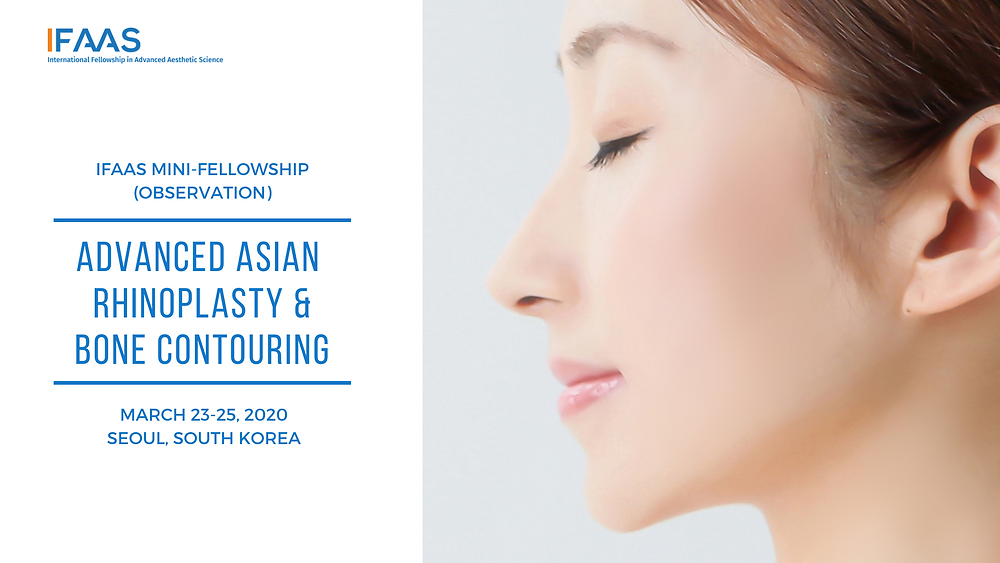 IFAAS Hands-On Master Class  Korean Non-Surgical Face Lifting - Minimally Invasive Thread Lift & Combination Therapies​ December 7-8, 2019 | Dallas, Texas, USA