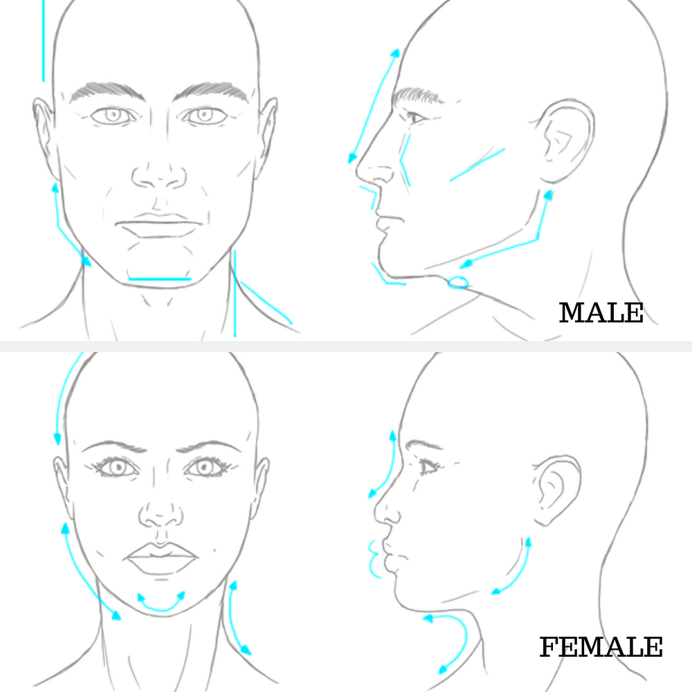 Jawlines: Understanding Gender Differences, Facial Ageing and Defining Jawlines using Super Embossed Threads