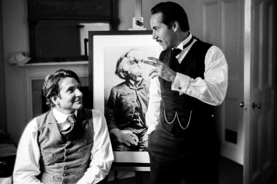 Bradley Cooper and Alessandro Nivola