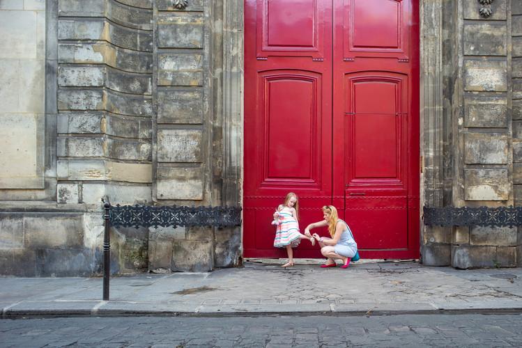 Parisian Flat Tire
